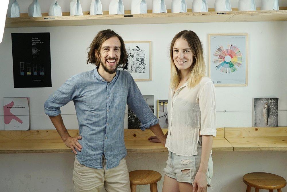 Ella y Alberto de Bear onBike